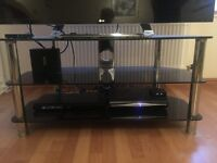 Glass TV Stand ( Used )