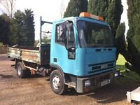 Iveco cargo tipper 2003 lorry