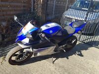 Yamaha R125 in Blue Good Condition