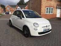 2012 FIAT 500 MOT APRIL 2018 ,FULLY SERVICED, LOW MILEAGE FULL HPI CLEAR 1 LADY OWNER