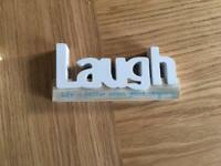 Wooden Home Decor Words LOVE LAUGH RELAX Homewares