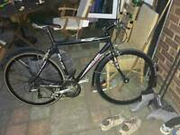 Bicycle with aluminium frame in very good fully working order