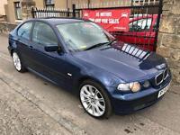 BMW 316I (54) **77000 MILES** , 1 YEAR MOT, FULL SERVICE HISTORY, WARRANTY £1495
