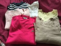 Bundle of jumpersx6 Size 16-18