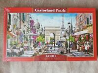 Brand New Jigsaw Castorland Puzzle 4000. Pickup on EH5
