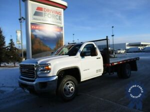 2017 GMC Sierra 3500HD Regular Cab 4X4 12' Flat Deck, 6.0L V8
