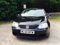 Volkswagen Golf 5 door hatchback ....low mileage and HPI clear