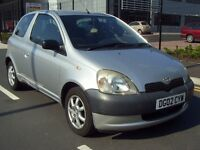 2002 (02) Toyota Yaris 1.0 Vvti-i 16V Gs - *12 MONTHS MOT* - CHEAP INSURANCE - ALLOYS - *FSH* - PX
