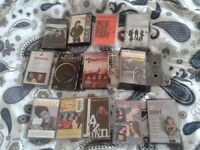 Tape Collection - I no longer have a tape player in my car, so these tapes need a new home!