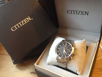 Citizen 2016 Eco-Drive chronograph with 1+ years warranty