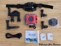 Kitvision Splash Waterproof Full HD 1080p Action Camera