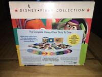 The complete Disney pixar ultimate DVD collection