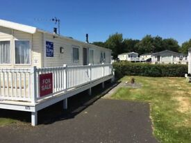 Haven Berwick Pre-Loved Willerby Rio Premier 3 bed Double Glazed with Gas Central Heating TD15 1NE