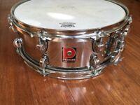 "Premier 1065 XPK/APK Steel 14"" Snare Drum - Late 90's"