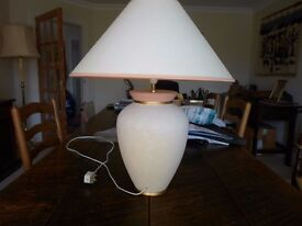"TABLE LAMP -24"" high"