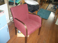 Fireside chair in good condition - upcycle etc.