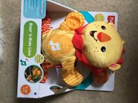 Brand New Fisher Price Roar n Ride Lion