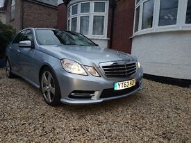 Full loaded silver E300 Merc Hybrid 63 plate, low miles, cheap to run