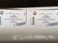 Cribs tickets (two for £20) Monday 15th May Newcadtle O2 Academy