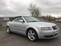 2005 AUDI A4 T SPORT CABRIOLET **1 OWNER, NEW CAMBELT, FULL SERVICE HISTORY, 12 MONTHS MOT**