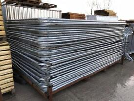 Used Heras Security Fence Panels X 50