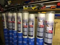 Tyvek roofing membrane