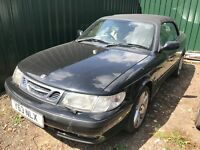 Saab 93 petrol manual black breaking for parts / spares
