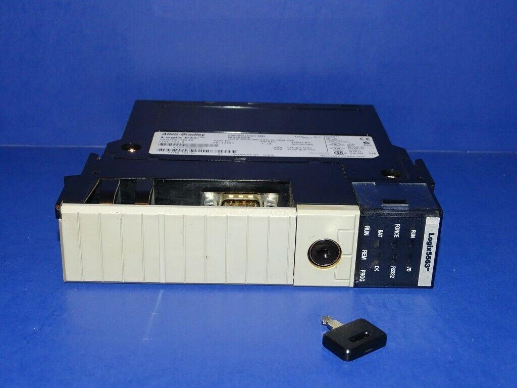 Allen Bradley 1756-L63 Series B ControlLogix Processor With Key - $249.00