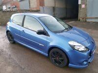 2010 RENAULT CLIO GT 1.5 DCI 106 BHP 3 DOOR HATCHBACK BLUE