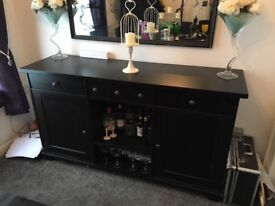 Dark oak side cabinet