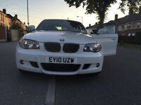 Bmw 120D 2010 candy white quick sale