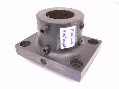 Used Turret Tool Holder Block 2 Hole Diameter