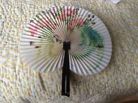 Old Chinese ladies fan