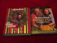 various cook books
