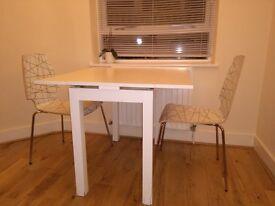 Bjursta extendable table 50/70 * 90/90