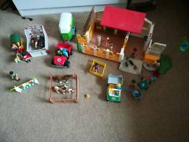 Play mobile farm set