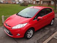 Ford Fiesta 1.25 Zetec 5dr, Excellent condition, very low mileage