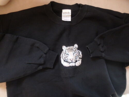 Vintage Siegfried & Roy Mirage Hotel White Tiger Sweatshirt Men