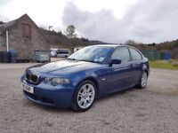 BMW 325TI Sport - Leather seats, Nice bumpers, Genuine reason for sale - VK03 OEA