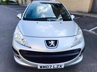 Peugeot 207 S 1.4, 2007, petrol, 1 Year Mot, Recently Serviced, Full Service History