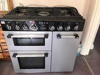 SMEG fuel fuel range cooker BU93S