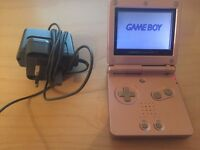GAMEBOY ADVANCE SP - PINK - FULL WORKING CONDITION WITH CHARGER - £25