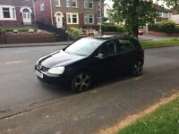 Automatic Volkswagen Golf Mk5 FSI IN BLACK ,10 months mot ,px options available