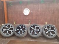 18inch Ford Snowflake Alloys