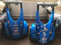 2 x kids Dareway electric ride on's