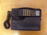 2 Vintage/collectible 1980s phones - Panasonic and NEC