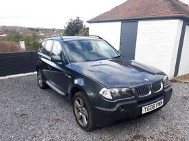 BMW X3 20ltr Diesel - 2006 - LOW 83,500 miles - Highland Green - Offers welcome