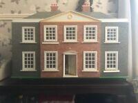 Wooden Tudor Style Dolls House