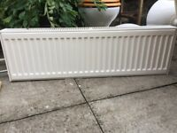 Conventional central heating Radiator 101cm W x 31cm H