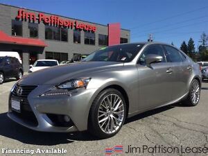 2014 Lexus IS 250 AWD w/NAV, leather, roof